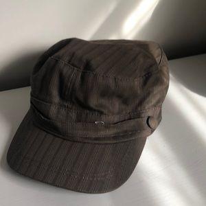 Stylish brown hat